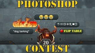 MTG Arena Photoshop Contest Winner Announcement!