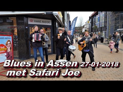 Blues in Assen 27 01 2018 met Safari Joe