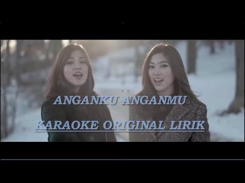 Anganku anganmu karaoke tanpa vokal (original karaoke song)