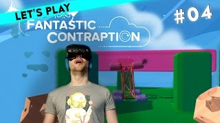 [4/5] Let's Play Steam VR - HTC Vive mit Simon und Dennis | Fantastic Contraption | 26.04.2016