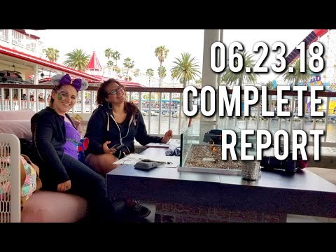 The week we went to the grand  of Pixar Pier  062318