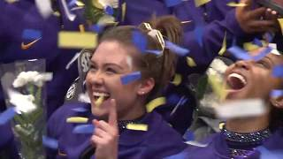 HIGHLIGHTS | LSU gymnastics clinches third SEC Championship in a row