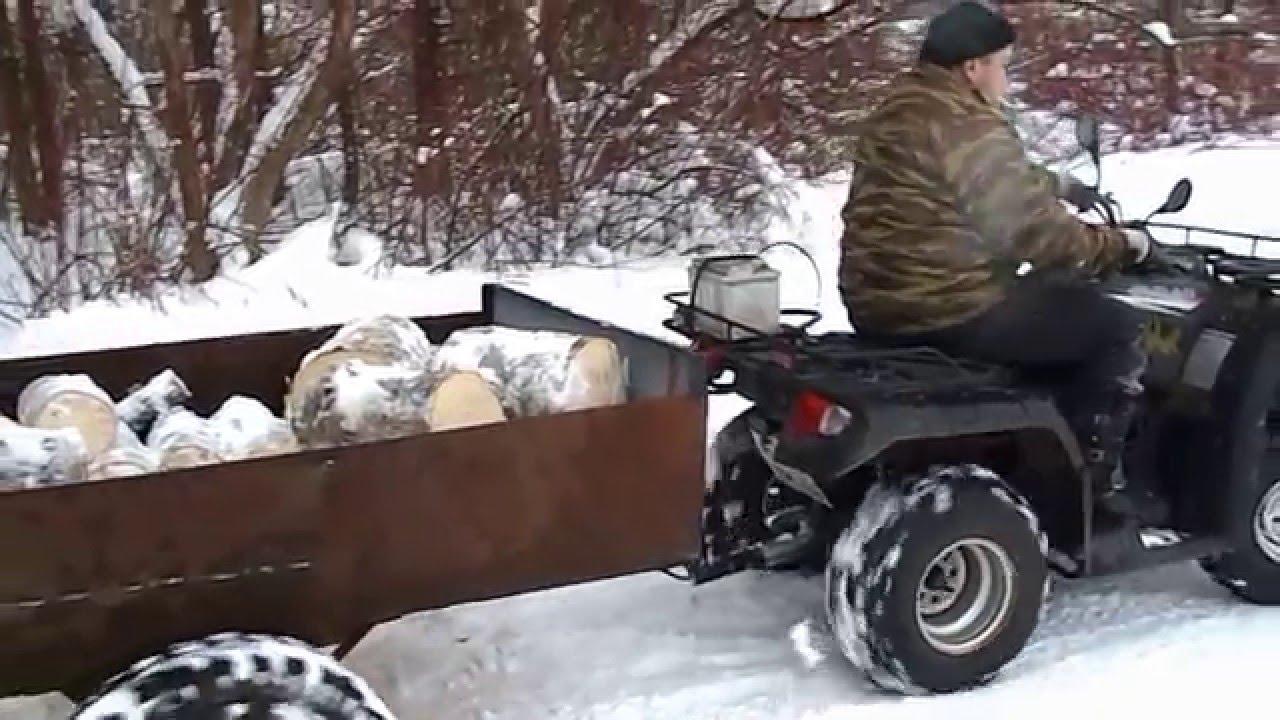 Zongshen quad 200 / Китайский квадроцикл - YouTube