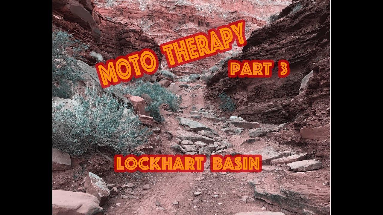 Africa Twin Moto Therapy Part 3 Lockhart Basin Moab