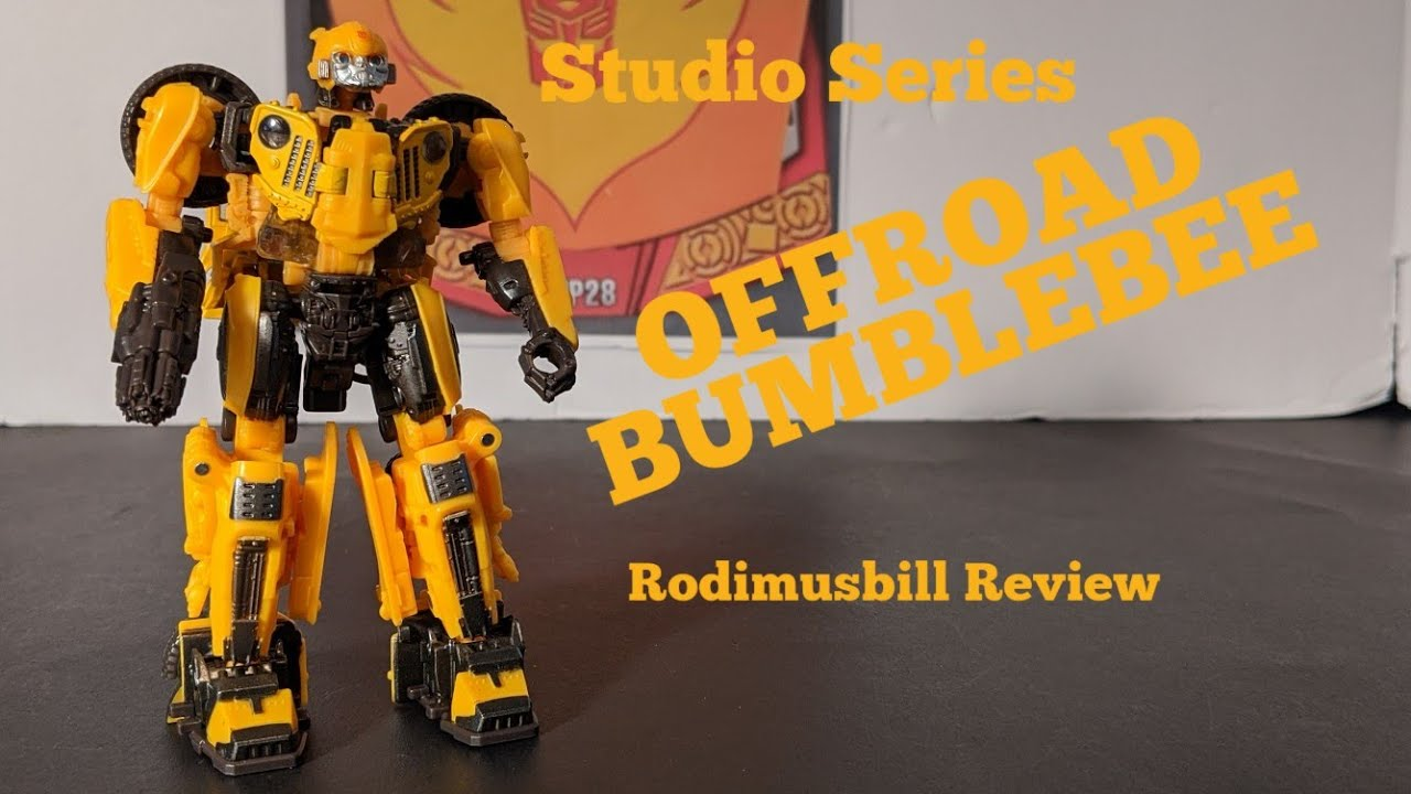 Studio Series #57 Off-road Bumblebee Deluxe Review By Rodimusbill