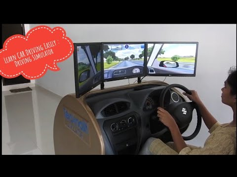 Maruti Driving School With Driving Simulator & Personalised Training 2018