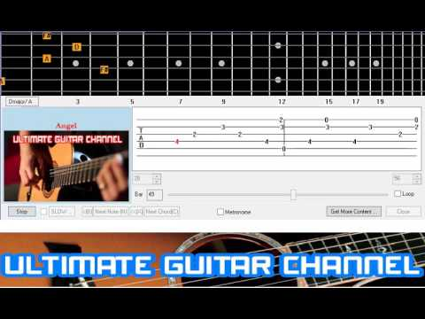 Guitar Solo Tab Angel Sarah Mclachlan Youtube