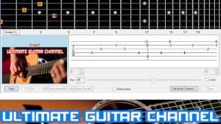 [Guitar Solo Tab] Angel (Sarah McLachlan)