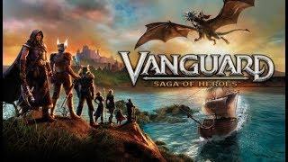 Vanguard Saga of Heroes Ranger still on the newbee island!! September 2018
