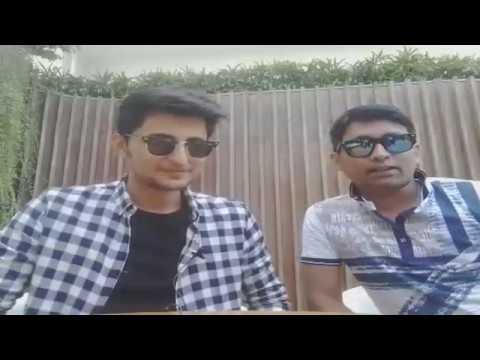 Singer Darshan Raval with Rj Animesh live on 91.9 Friends FM Kolkata