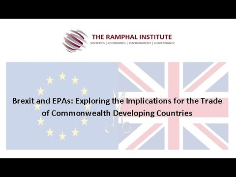 Brexit and EPAs: Exploring the Implications for the trade of Commonwealth developing Countries