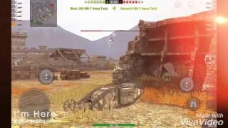 Играю на спец ПТ Mk 1 Heavy Tank
