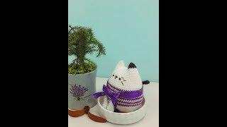 F.Hướng dẫn móc Mèo Tong Tong (mẫu của Bigbebez) - How to crochet a Tong Tong Cat