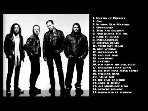 Best of Metallica Songs 2017
