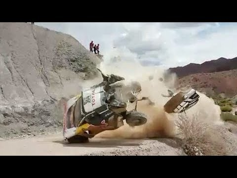 Dakar Rally Crashes Compilation