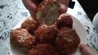 Мясные котлеты без хлеба  Очень быстро и вкусно
