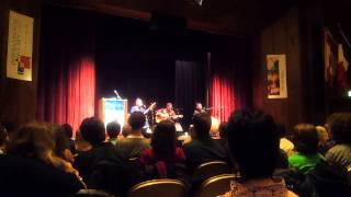 Alash Ensemble Track 3 (Tuvan Throat Singing) at the University of Chicago (Nov. 2013)