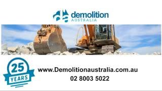 My House Getting Knocked Down | Demolition Australia | 02 8003 5022