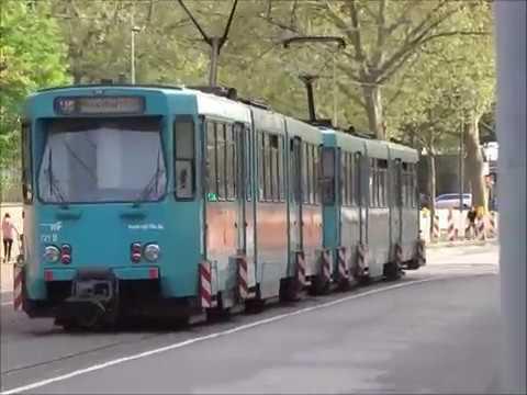 Rhein Main Verkhersverbund - Frankfurt U-Bahn Compilation