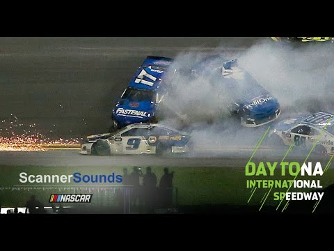 Scanner Sounds: Chase Elliott 'It's done. Blew up'
