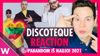 The Roop - Discoteque REACTION | Lithuania Eurovision 2021 selection