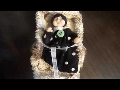 МК: Как сделать костюм гномика мини реборну