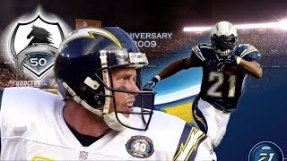 LETS TEAM UP RYAN LEAF AND LADAINIAN TOMLINSON - MADDEN 06 REBUILD