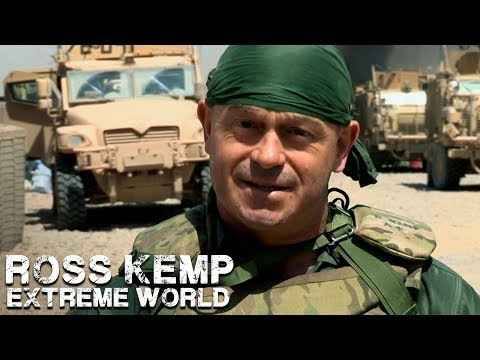 Ross Joins the US Army in Afghanistan | Ross Kemp Extreme World