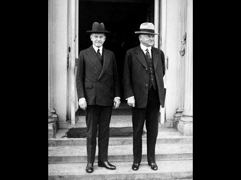 The Presidency: Herbert Hoover & Calvin Coolidge