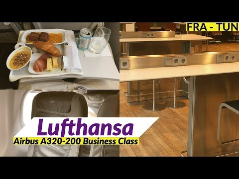 Worth The Money? Lufthansa's Business Class On Short Haul! A320-200 From Frankfurt To Tunis