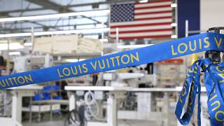 President Trump at the Opening of a Texas Louis Vuitton Workshop