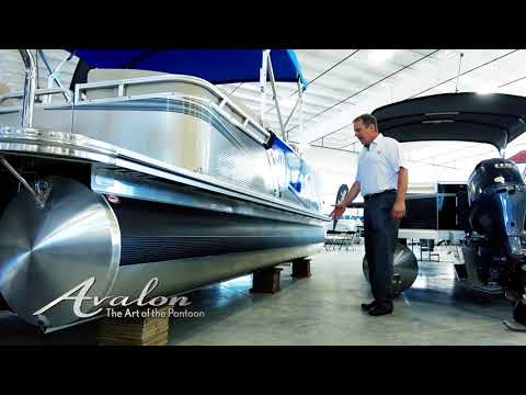 2018 Pontoon Boat WRAPS & BUMPER GUARDS | New Features for Added Protection | Avalon Luxury Pontoons