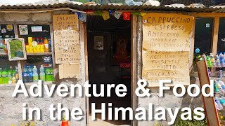 Indian Breakfast in the EPIC Indian Himalayas