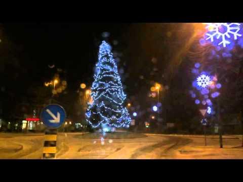 Prvi sneg in prva burja v letu 2016 - Ajdovščina