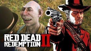 """Мэддисон играет в Red Dead Redemption 2 - """"ЛИБО ОН НАС СЪЕСТ ЛИБО МЫ ЕГО ПОБЕДИМ"""""""