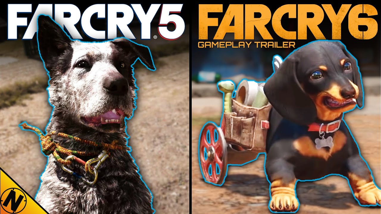 Far Cry 6 [Trailer] vs Far Cry 5 | Direct Comparison
