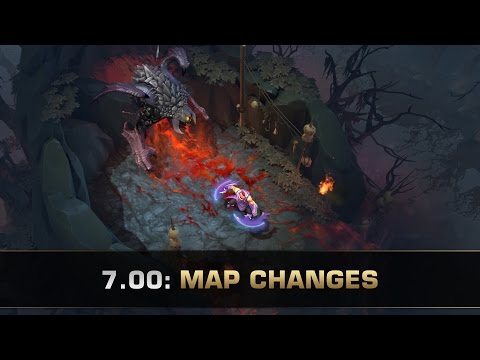 Dota 2 New Map – Patch 7.00