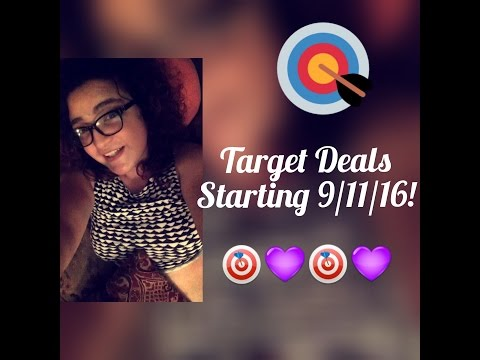 Upcoming Target Deals! Starting 9/11/16!! ( Great Giftcard Promos & Freebies??)