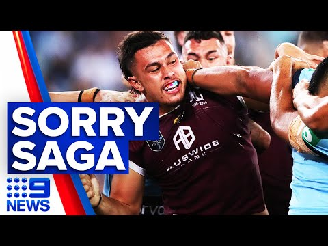 Broncos star arrested after allegedly abusing police | 9 News Australia thumbnail