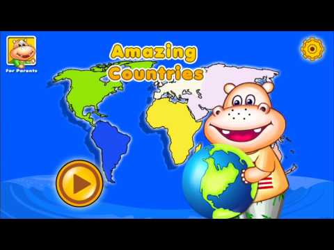Download Youtube: AMAZING COUNTRIES - World Geography Educational Learning Games for Kids, Parents and Teachers