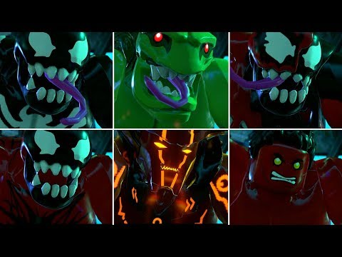 All Big Fig Marvel Characters Hulk Smash in LEGO Marvel Super Heroes 2 Cutscene |