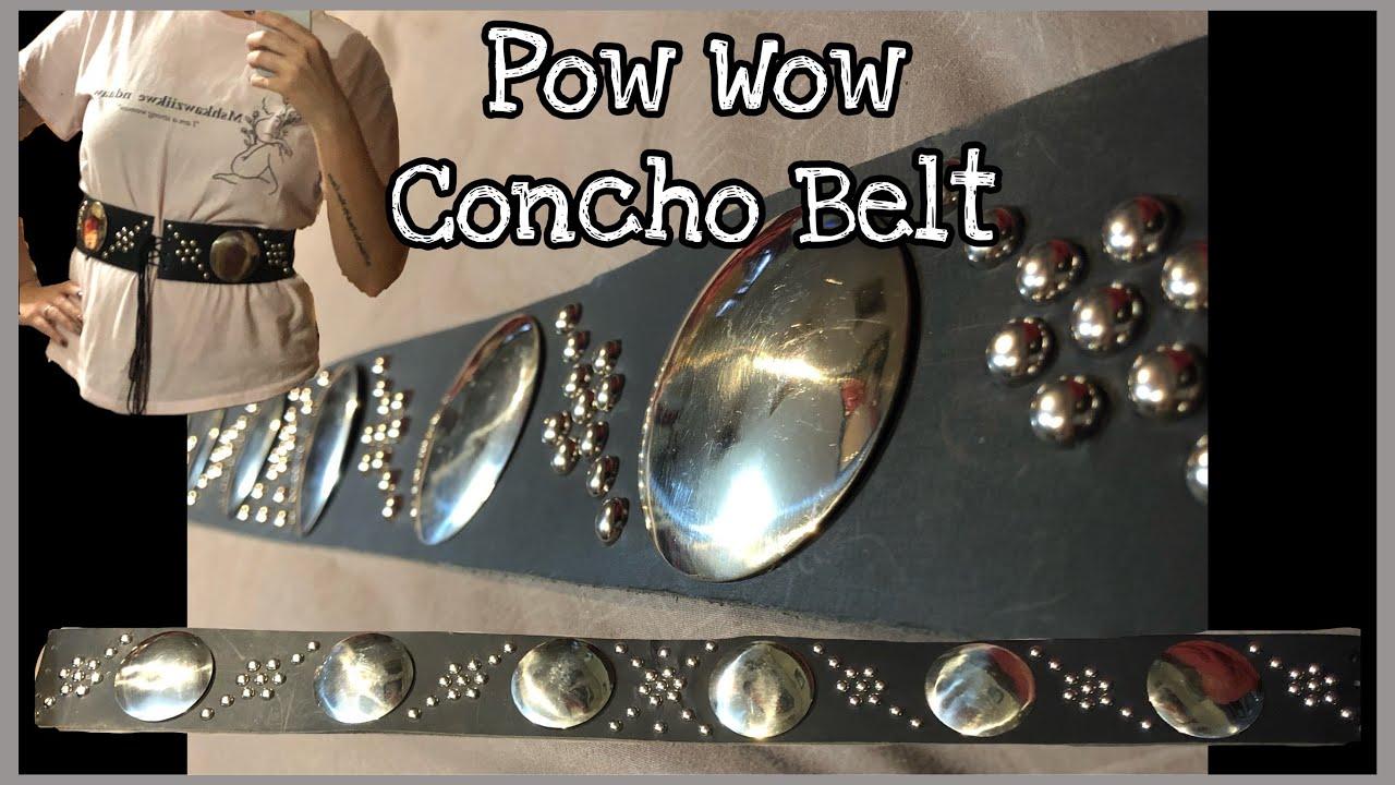 Pow Wow Concho Belt Tutorial
