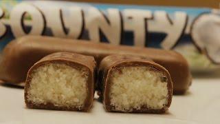 Bounty Chocolate Bars Recipe - Video Culinary