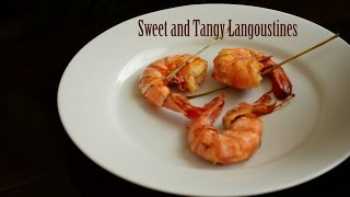 Sweet And Tangy Langoustine