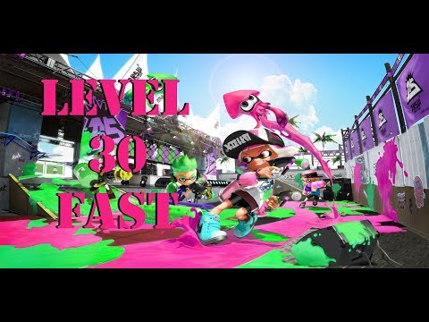 Getting to Level 30 Fast - Splatoon 2 - **NOW PATCHED**