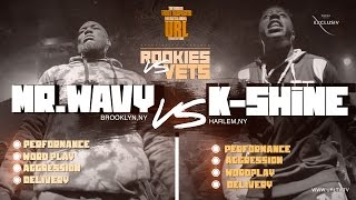 K-SHINE VS MR WAVY SMACK/URL | URLTV