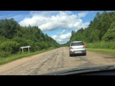 Новгородская область Поддорский район местный автобан