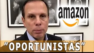 joão doria responde a amazon por propaganda oportunista resposta ao comercial do kindle