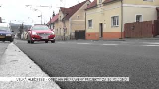Velká Hleďsebe: Obec má připraveny projekty za 30 milionů (TV Západ)