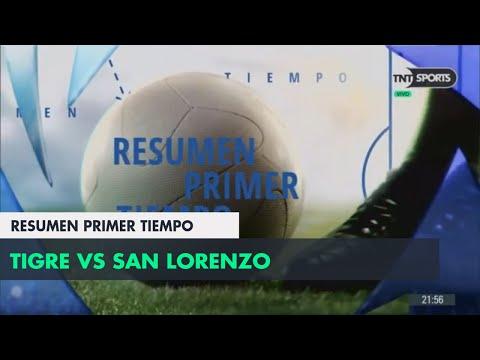Resumen Primer Tiempo: Tigre vs San Lorenzo | Fecha 1 - Superliga Argentina 2018/2019